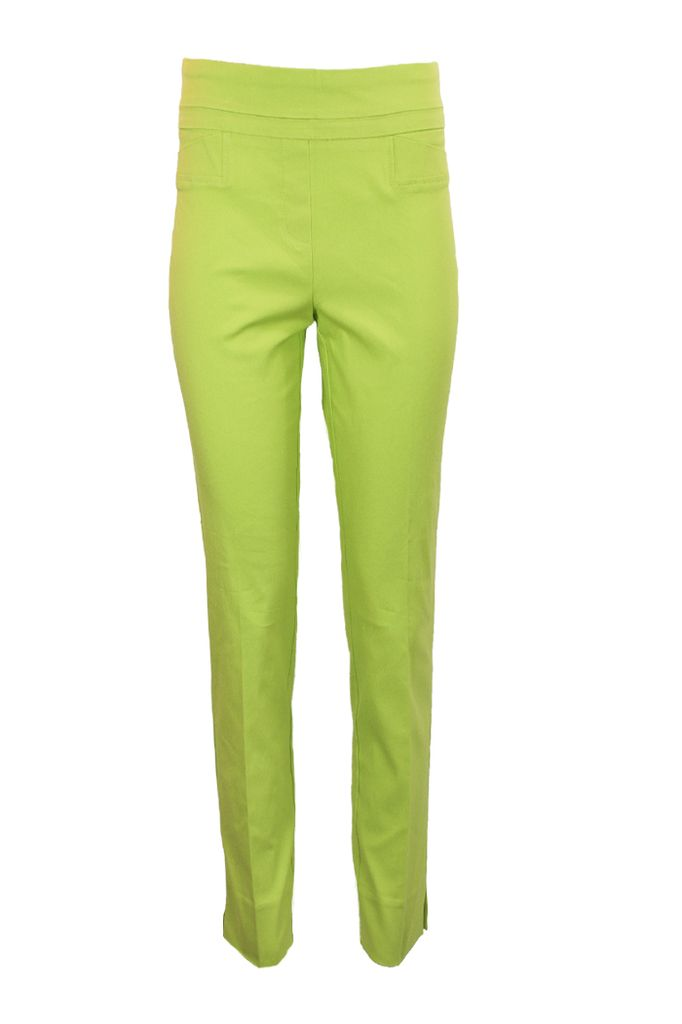 The Ankle Cigarette Magic Pant In Limette