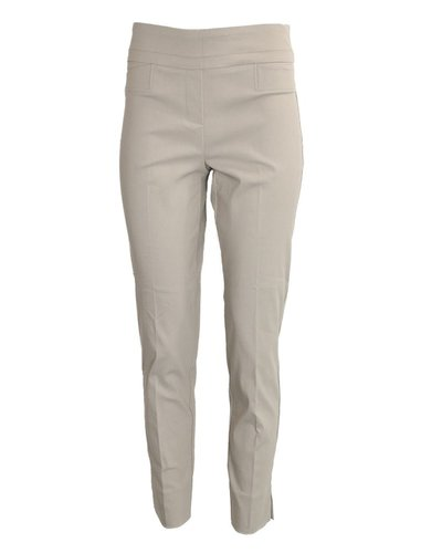 The Ankle Cigarette Magic Pant in Platinum