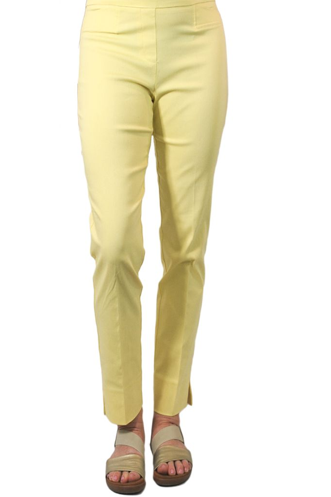 The Ankle Cigarette Magic Pant In Maize