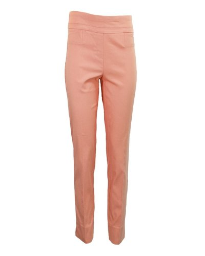 The Ankle Cigarette Magic Pant In Peach