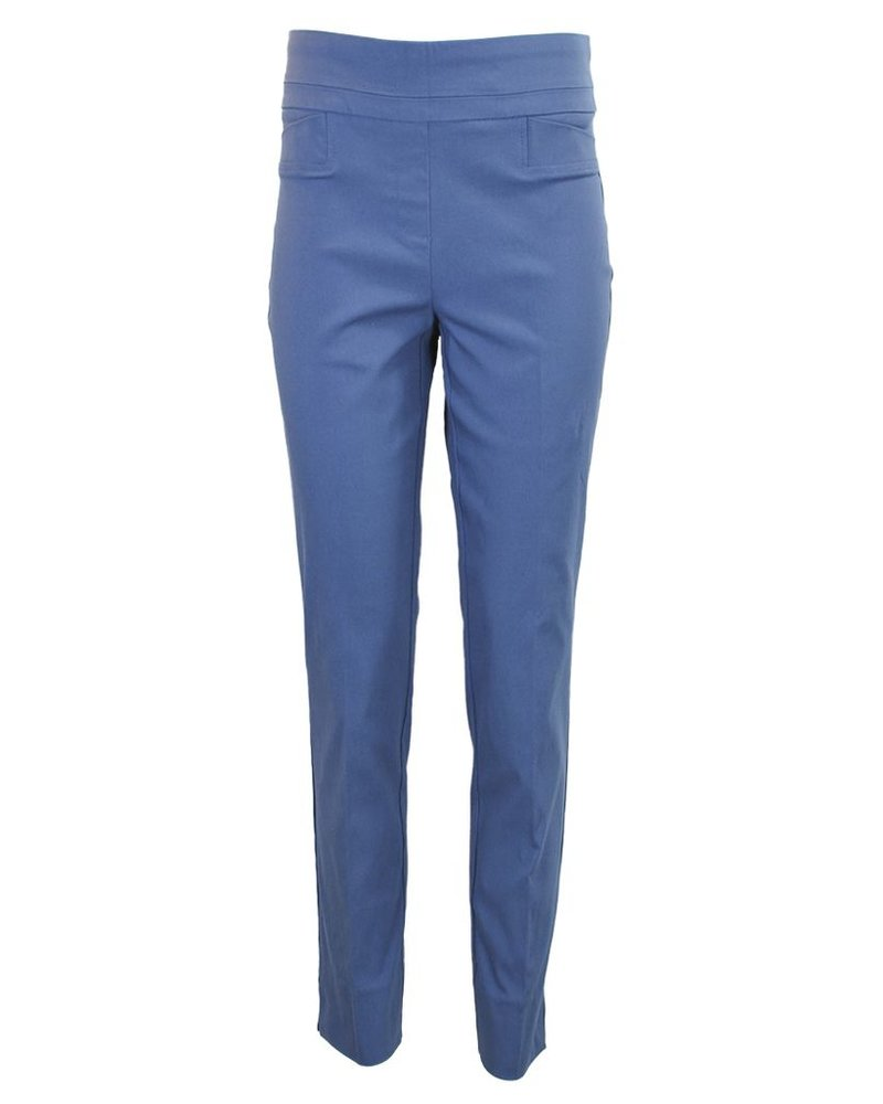 The Ankle Cigarette Magic Pant In Blue Berry