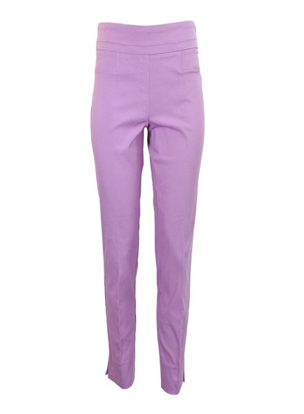 Renuar The Ankle Cigarette Magic Pant In Violet