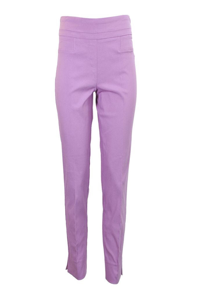 The Ankle Cigarette Magic Pant In Violet