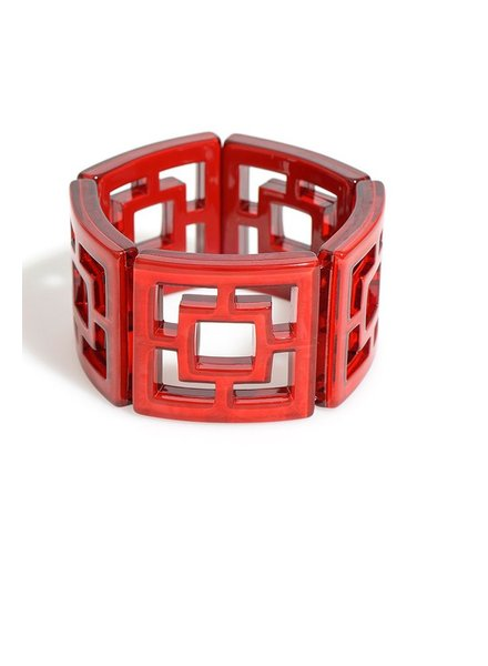My Shanghi Bracelet In Red