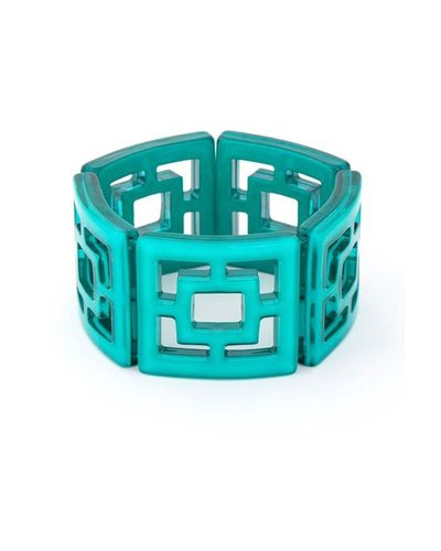 My Shanghi Bracelet In Teal