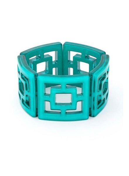 My Shanghi Bracelet In Teal