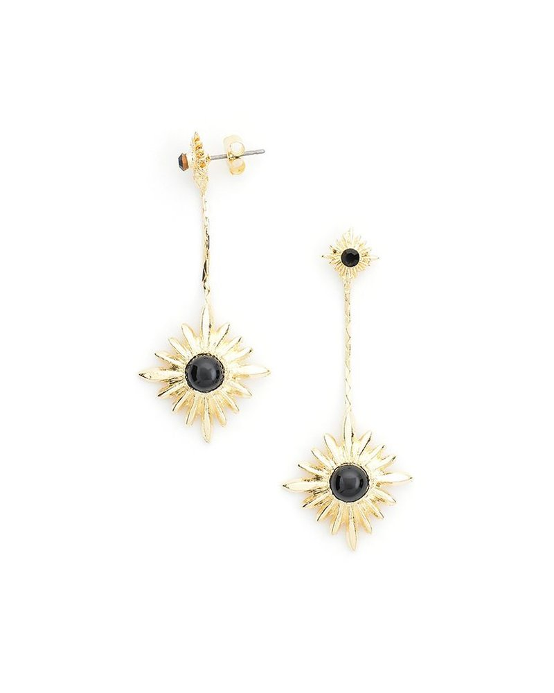 Starry Night Earrings In Black