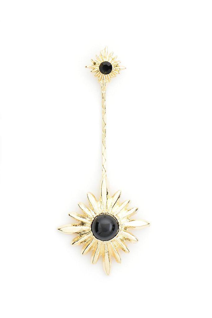 Starry Night Earrings In Black