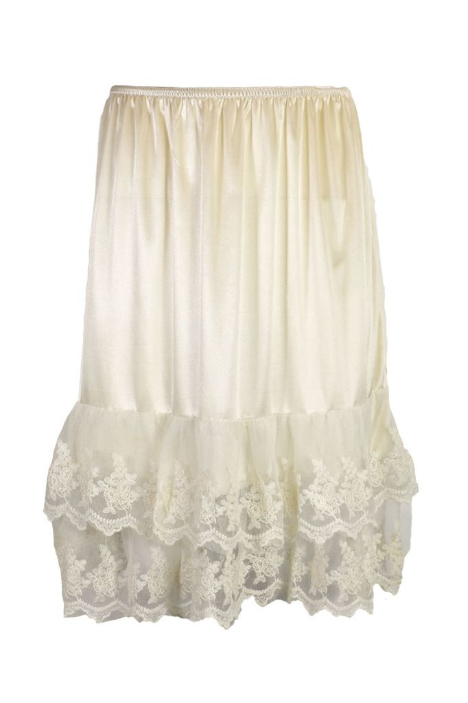 Double Lace Hemmed Slip