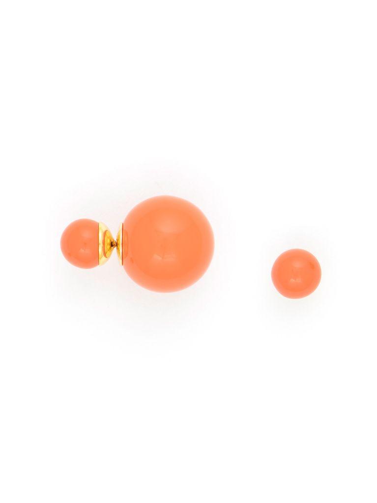 It Takes Two Earrings In Orange