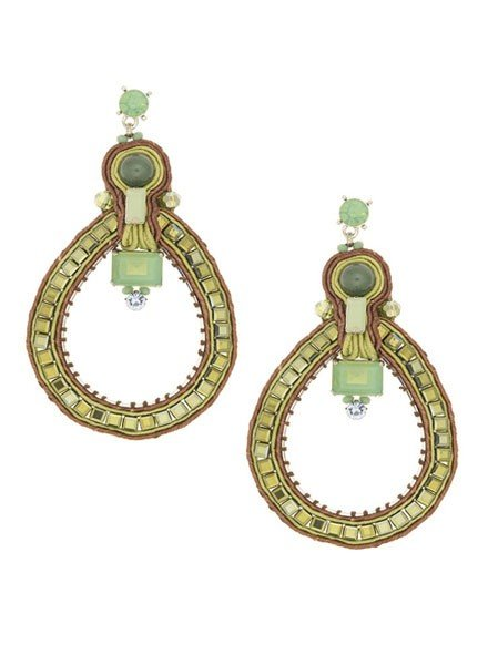 BoHo n' Chic Earrings In Green