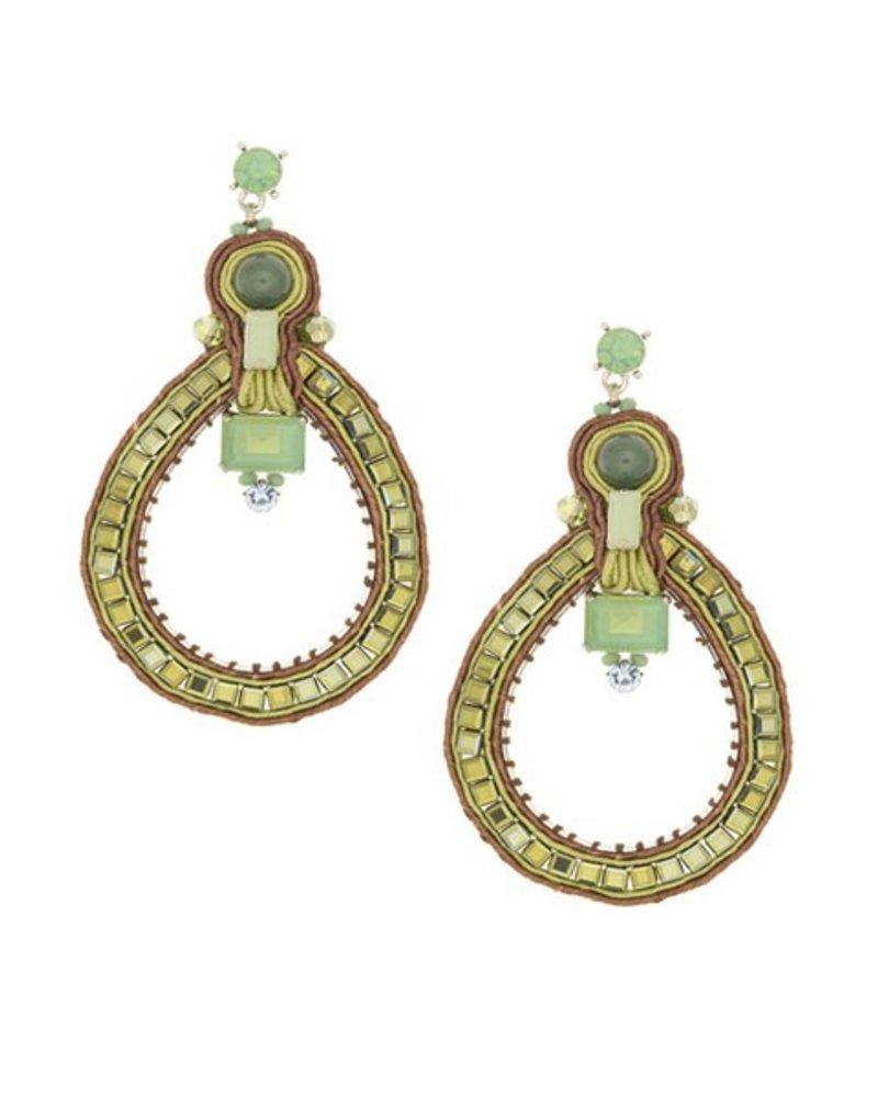 BoHo n' Chic Earrings In Green