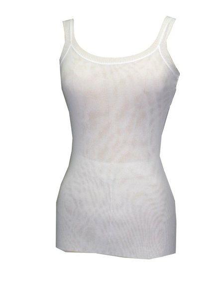 Petit Pois Bra Friendly Tank In White
