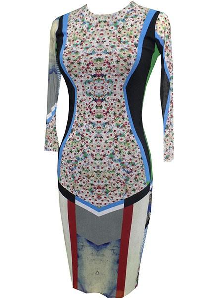 Petit Pois Mercury Crew Dress