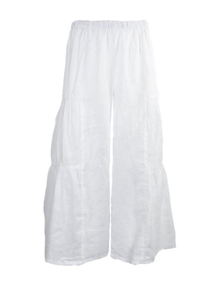 The Cha Cha Pant In White