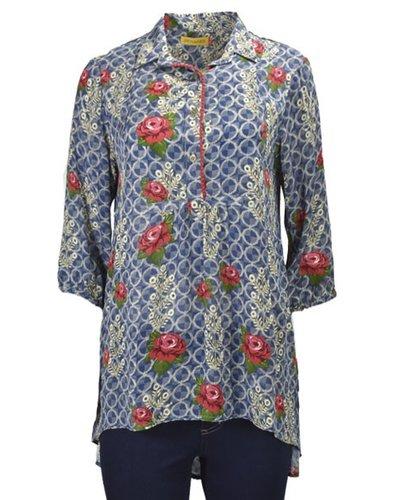 Denim & Roses Shirt