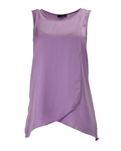 Soft As Silk Sleeveless In Violet