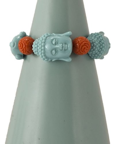 Siddhartha Bracelet In Turquoise & Orange