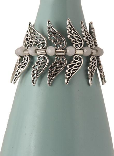 My Angel Bracelet With Light Grey Beads