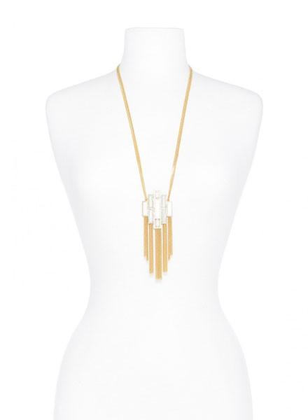 Deco Decadence Pendant Necklace