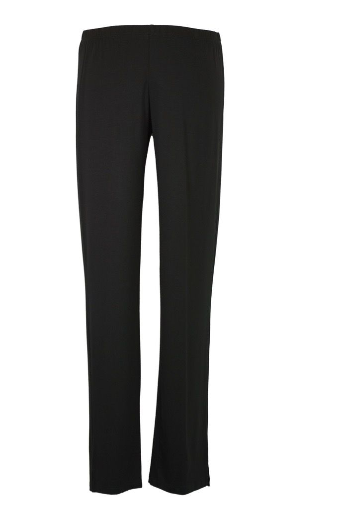 Comfy Narrow Pants In Black