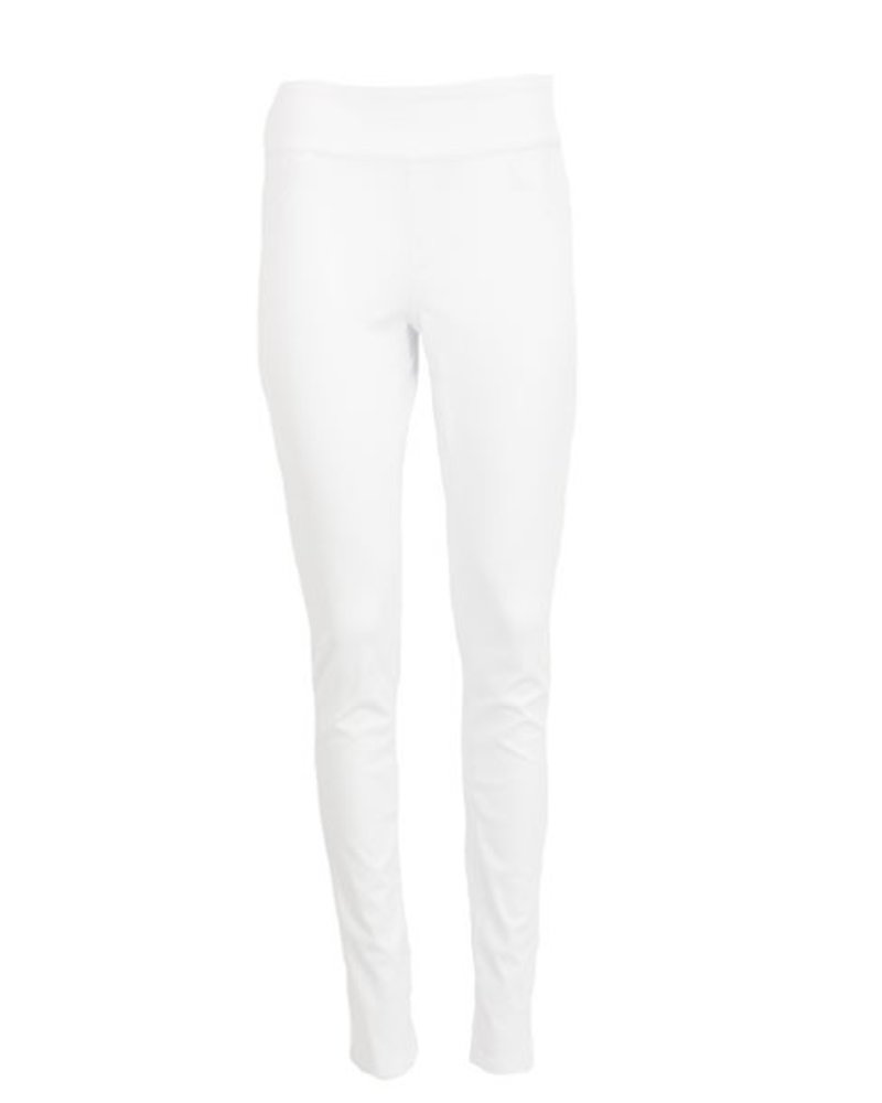 Love Denim Slim Jegging In White Denim