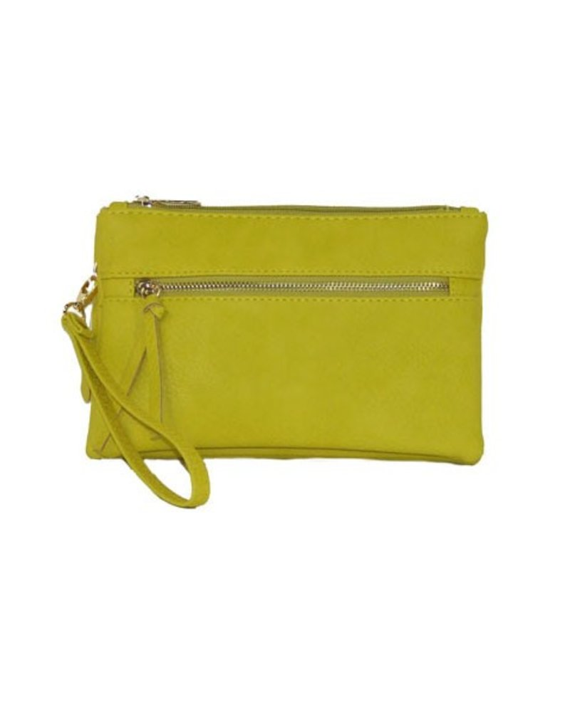 My Crossbody Wallet In Yellow