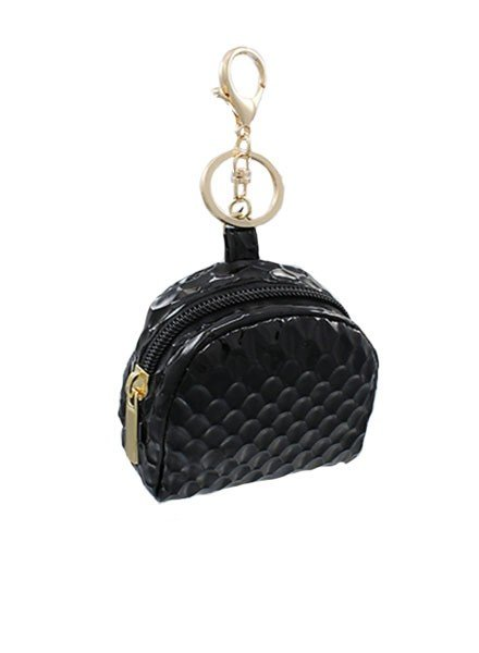 Little Black Backpack Key Chain