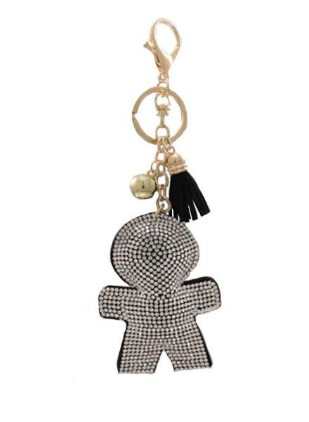 Lil Boy Crystal Keychain