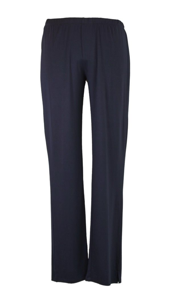 Comfy Narrow Pants In Navy