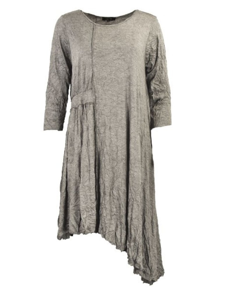 Comfy's Ivy Tunic In Black Pinstripe
