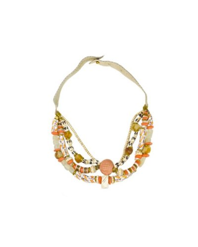 Twine & Twig Cape Town Collar In Oranges