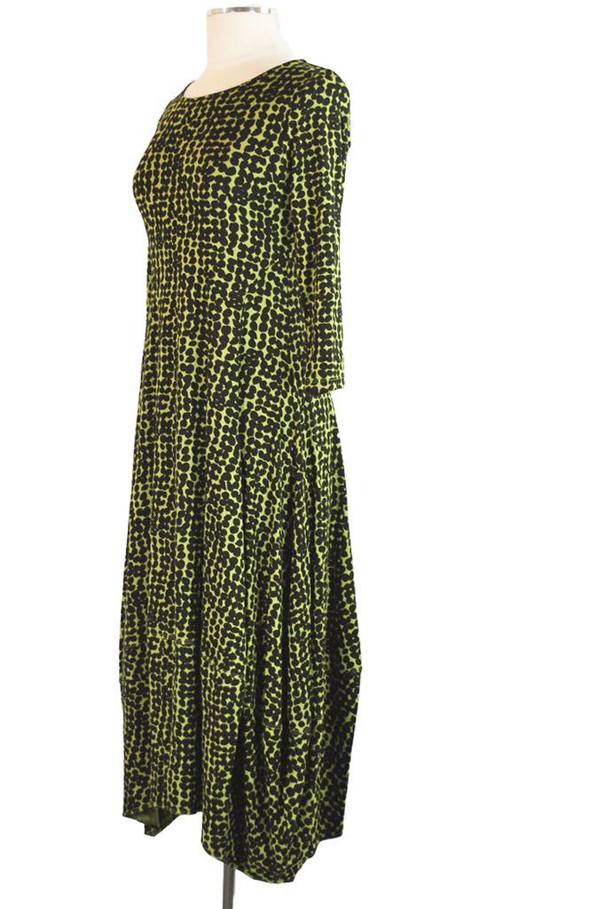 Comfy's Kati Dress In Island Green Print