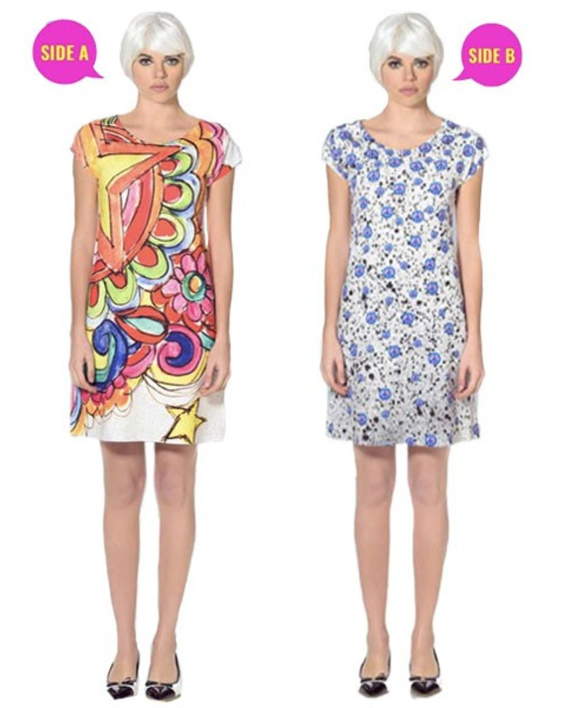 Animapop London Peace Reversible Dress