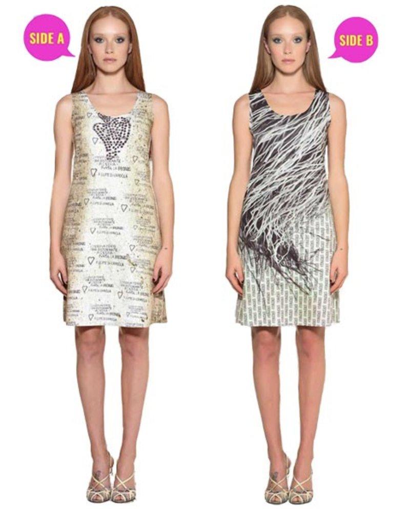 Animapop Animapop Stromboli Reversible Dress