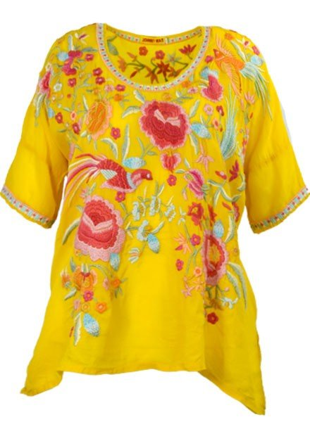 Johnny Was Rubi Blouse In Sunshine