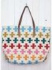 Oversized Tribal Tote Bag