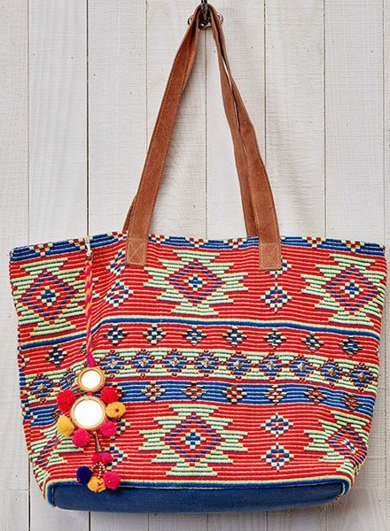 Aztec Oversized Tote Bag