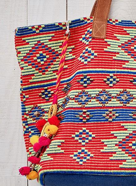 Aztec Oversized Tote Bag