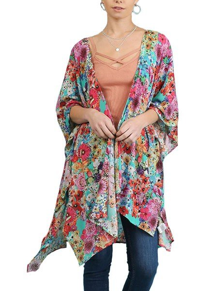 My Floral Throw On