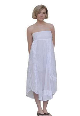 Bedhead Skirt Dress In White