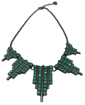 New York Art Deco Necklace
