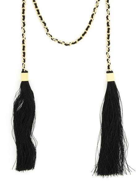 Linked Statement Tassel Necklace