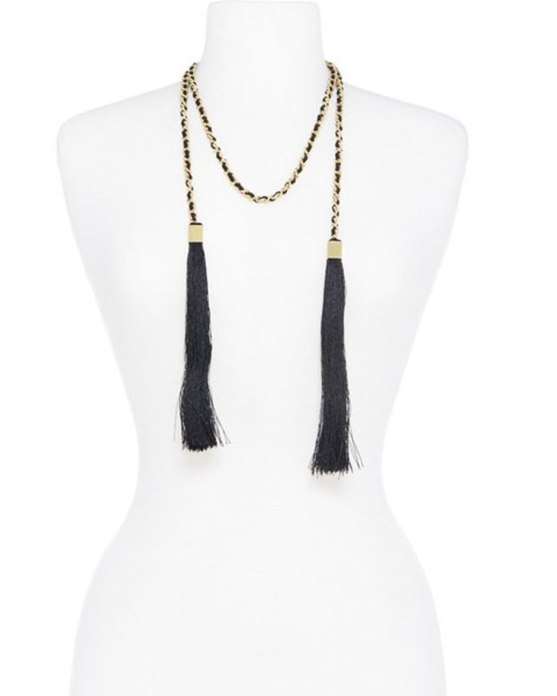 Linked Statement Tassel Necklace