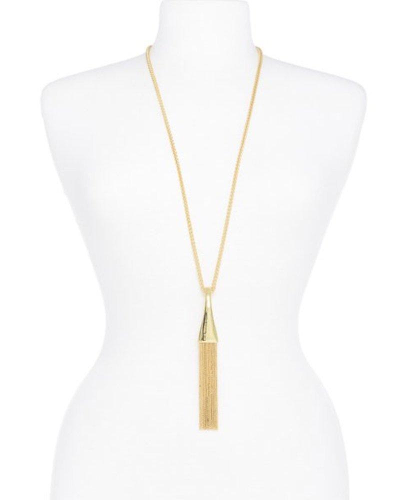 Loop Fringe Necklace