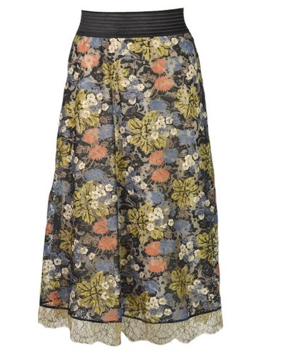 Petit Pois' Blossom Lace Skirt