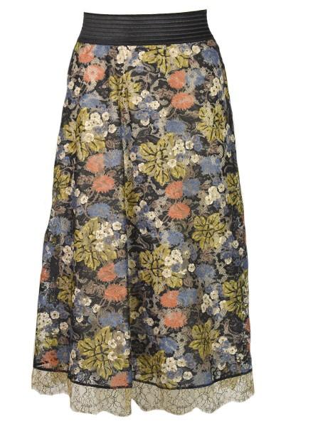 Petit Pois' Blossom Lace Skirt