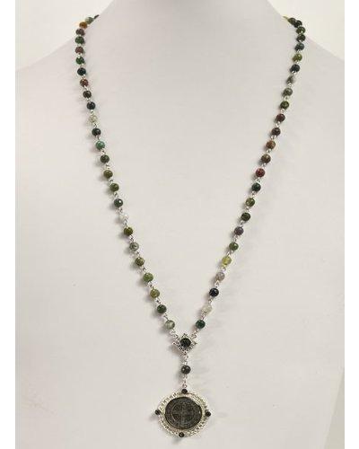 Lux San Benito Rosary With Jasper