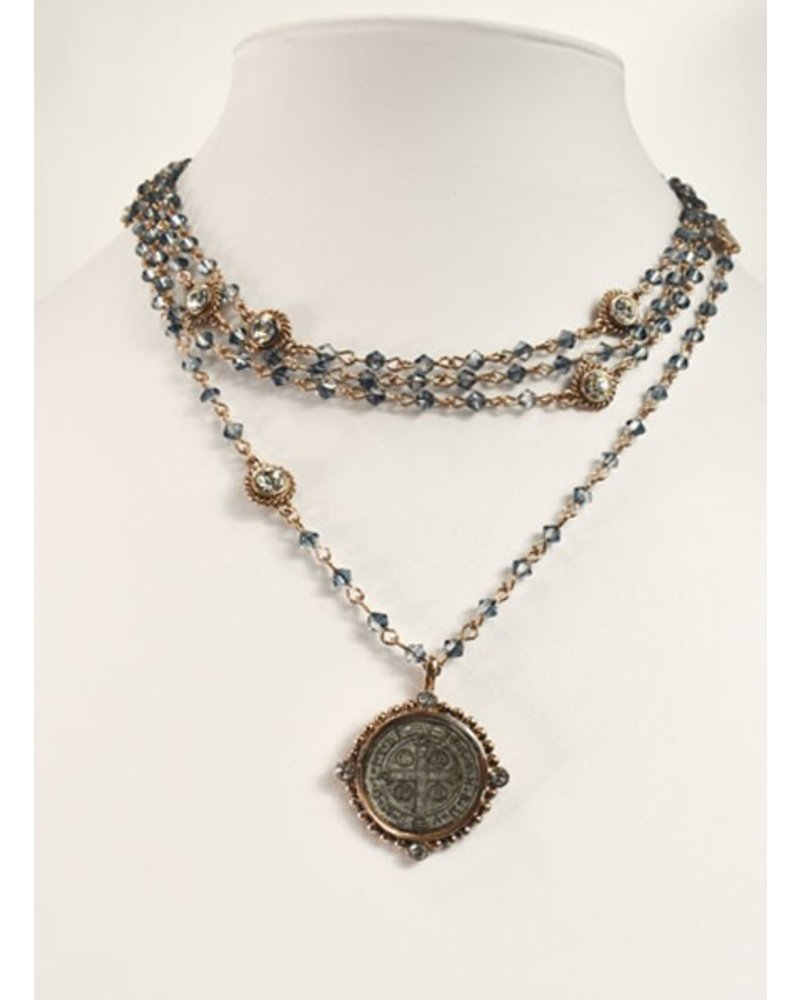 all jewellery women necklaces collective s saints vestiaire necklace