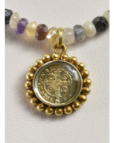 Piccolo Lux Magdalena In Mixed Stone & Gold
